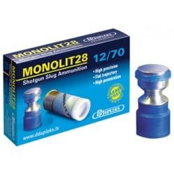 Патрон гладкоствольный DDupleks Monolit28 12/70