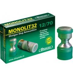 Патрон гладкоствольный DDupleks Monolit32 12/70