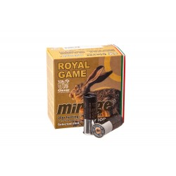 Патрон охотничий MIRAGE T4 Royal Game (б/к) к.12/70 №0 (3.9мм), 25/250шт 36гр