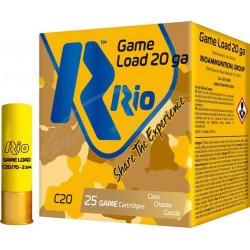 Патрон RIO Load Game C20 NEW кал.20 / 70 дробь №5 (3мм) навеска 25г