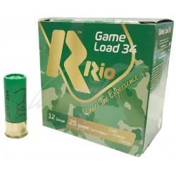 Патрон RIO Load Game 34 кал.12 / 70 дробь №4 / 0 (5мм) навеска 34г