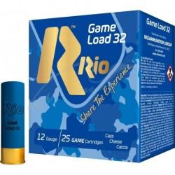 Патрон RIO Load Game-32 FW NEW кал.12 / 70 дробь №5 (3мм) навеска 32г