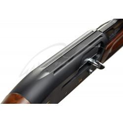 Ружье Breda Astro Black кал. 12/76. Ствол - 71 см. Никелированный затвор